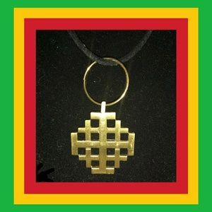Jewelry - JERUSALEM CROSS BRASS